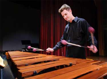 Mallet Day features different percussion sounds