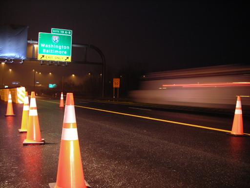 I-270 to I-95 takes 20 min. on ICC