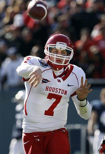 No. 24 Penn St falls to No. 20 Houston, 30-14