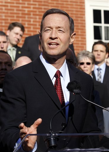O'Malley testifies in favor of same-sex marriage