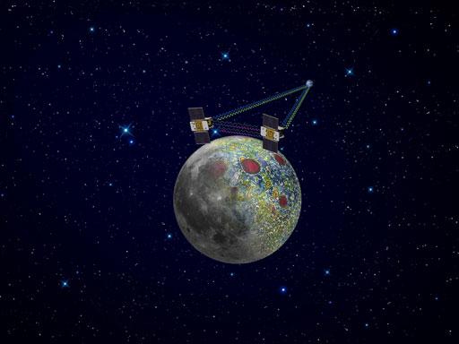 Twin spacecraft enter lunar orbit over New Year's weekend