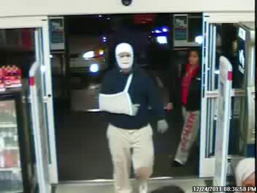 Mont. Co. Police looking for bandaged man who robbed pharmacy