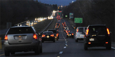Reversible toll lanes on 270? Maybe