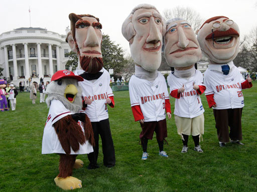 The Nats are looking for a few good presidents