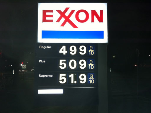 Gas prices take bigger chunk out of monthly budgets