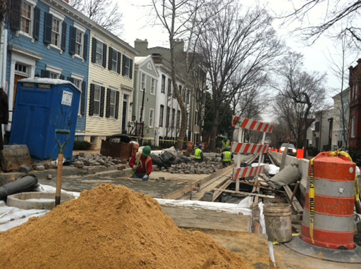 D.C. restores historic nature of Georgetown roads