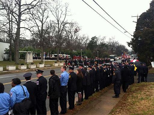 Thousands attend Alexandria paramedic's funeral