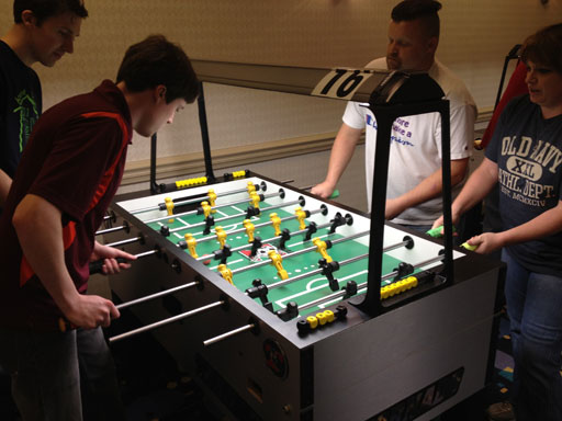 Foosball junkies battle for the championship