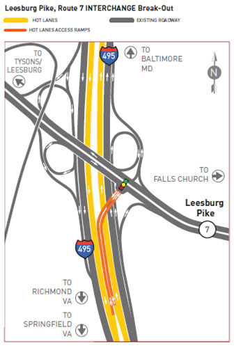 More changes coming along the Express Lanes project