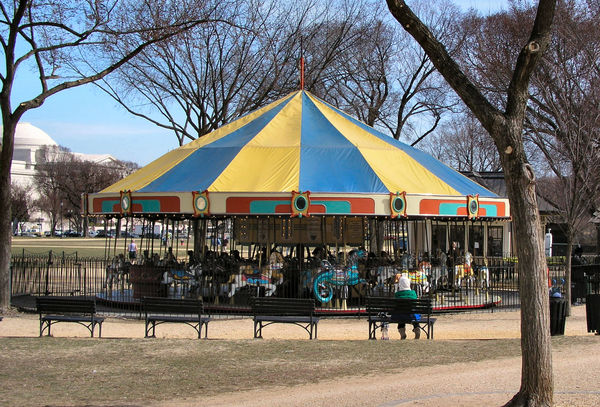 The Carousel on the Mall: Spinning civil rights history