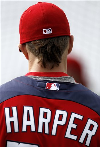 Q&A with Nationals outfielder Bryce Harper