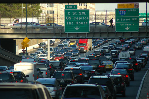 D.C. experiences largest commuter surge in nation