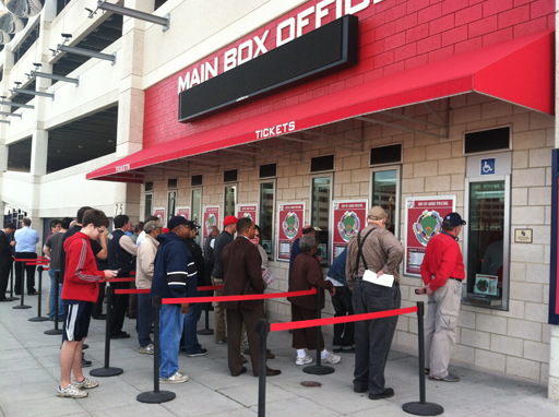 Nats fans buy tickets with high hopes for the season ahead