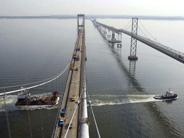 New paint for Bay Bridge means lane closures for drivers
