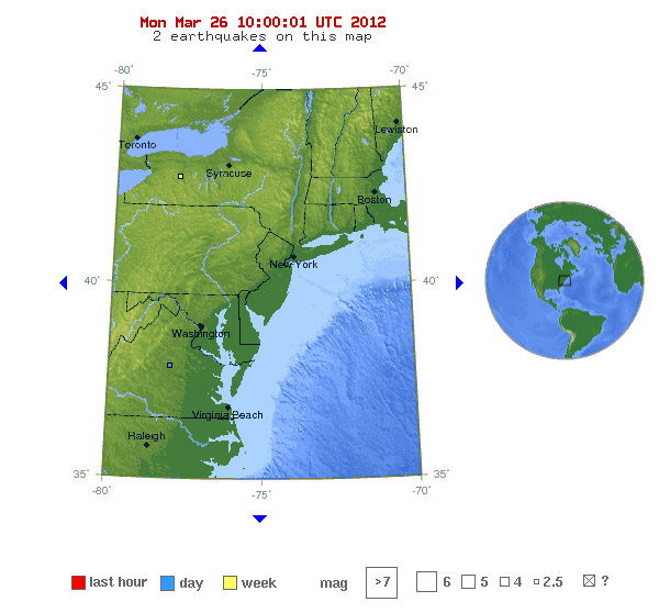 3.1-mag. shakes Va.; roughly 100th since last summer