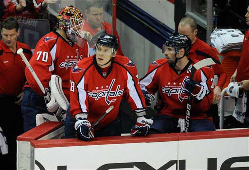 Caps on familiar side of playoffs