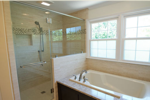 bathroom (Courtesy of Oak Hill Building and Remodeling)