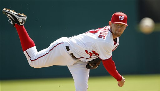 With Strasburg on the mound, Nats fall to Astros