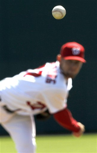 Strasburg gets the ball opening day