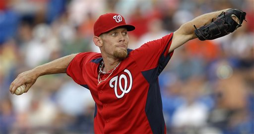 Strasburg sharp but Nats are blanked by Mets