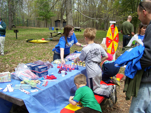 Celebrating military children in the great outdoors