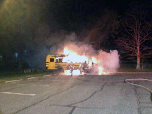 Teenager arrested for setting fire to Stafford Co. bus