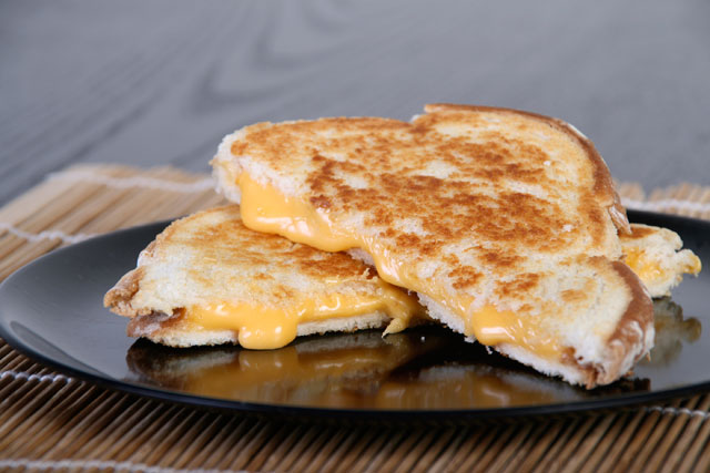 In celebration of the grilled cheese sandwich