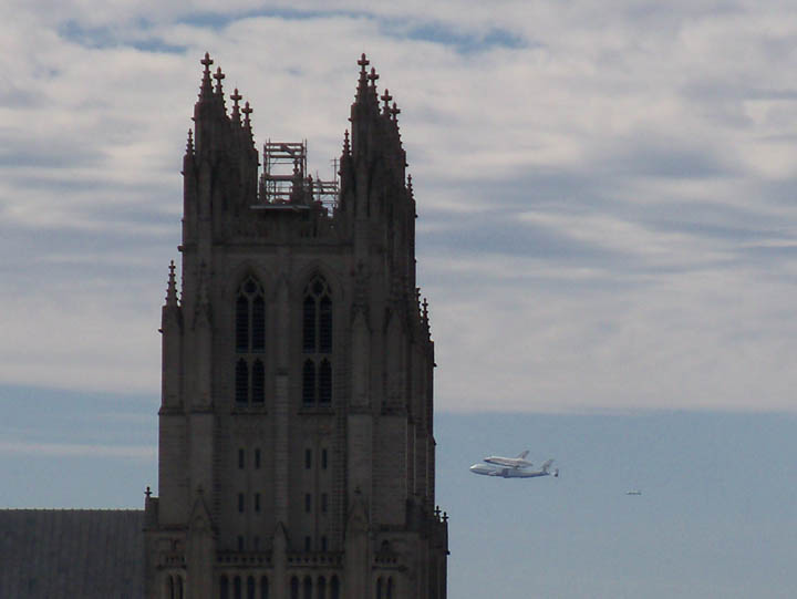 Shuttle Discovery made history (VIDEO)
