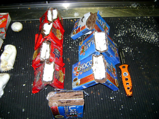 Feds seize 4 pounds of cocaine found in chocolate, drinks