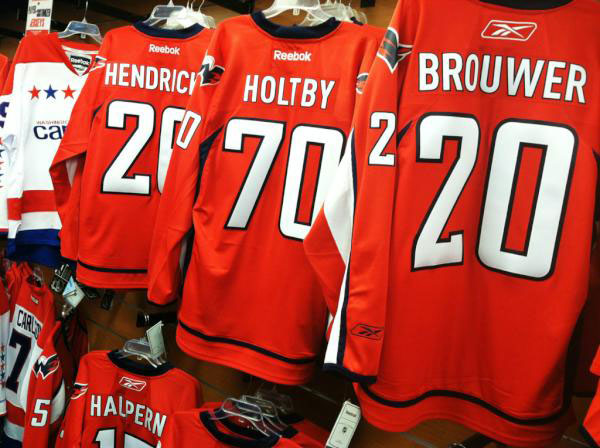 Fans of Caps' goalie Holtby can buy jersey — for a price