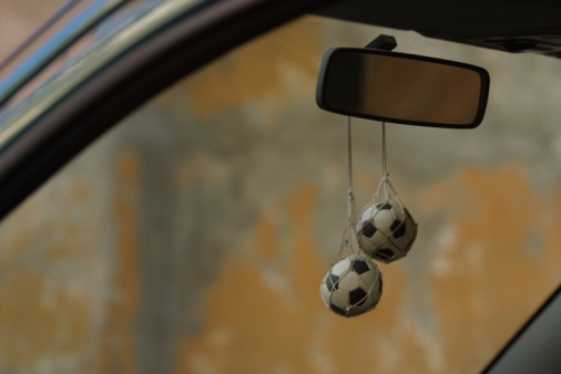 S O Things That Hang From A Car S Rearview Mirror