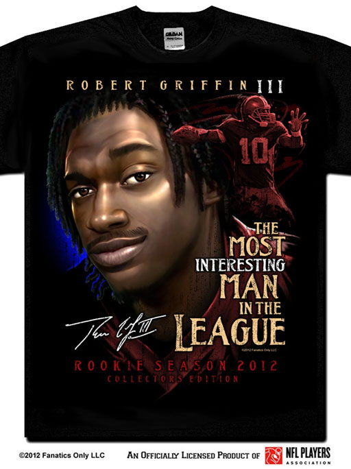 Celebrating RGIII's debut as a Redskin (VIDEO)