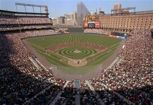 Camden Yards celebrates 20th with look at greatest moments