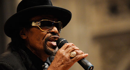 BLOG: Fans flocked to Chuck Brown