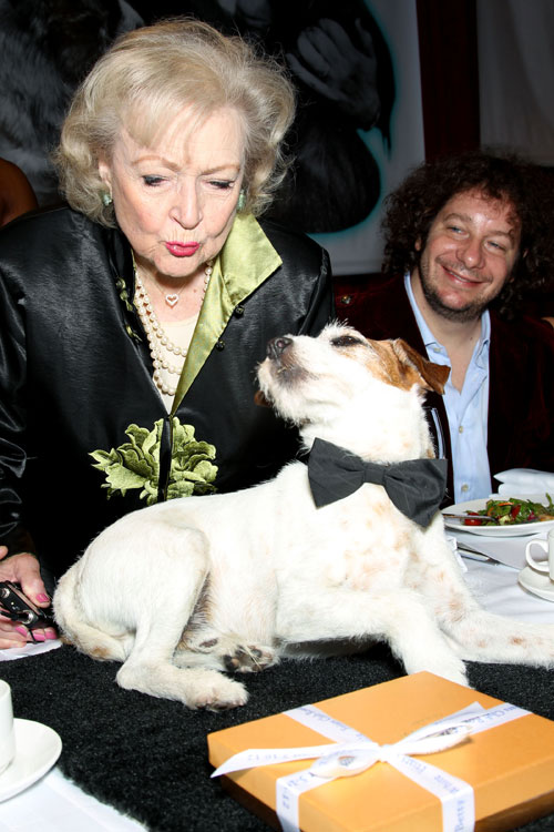 Betty White brings laughter, love for animals to D.C.