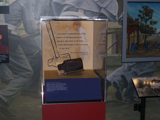 Marine Corps Museum puts Harpers Ferry artifact on display