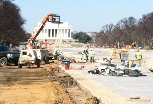 End in sight for some National Mall projects