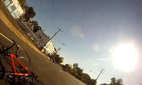 Driver in 2011 videotaped bike crash turns himself in