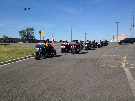 Motorcyclists ride for 24 hours to raise PTSD awareness