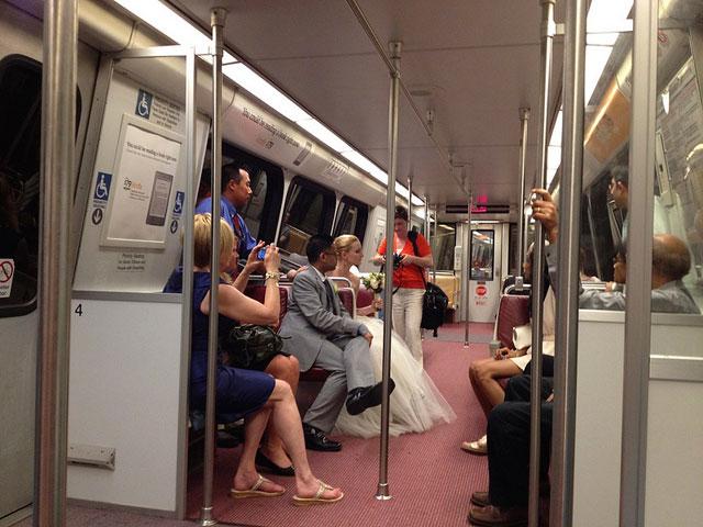 Next stop: Metro wedding and marital bliss