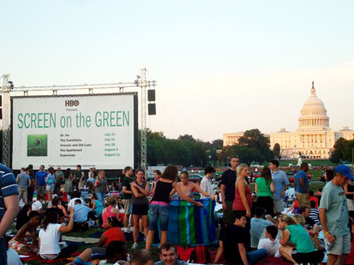 2 childhood favorites to screen on the Mall