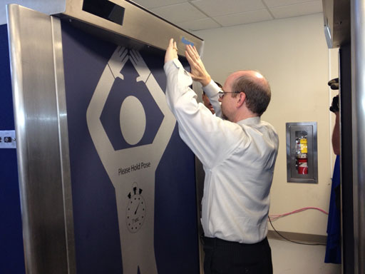 New body scanner will greet visitors at Pentagon