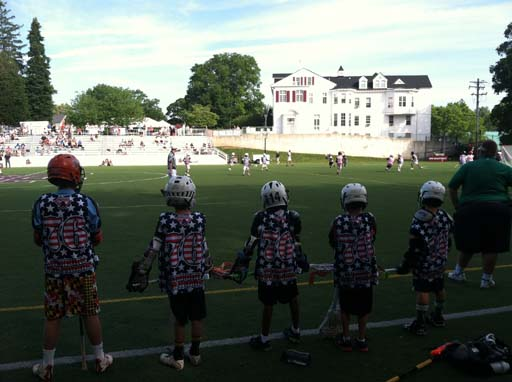 Record-setting benefit lacrosse game kicks off in Baltimore