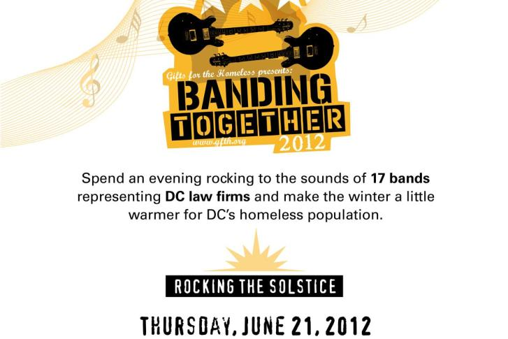 Area law firms to rock out for the homeless