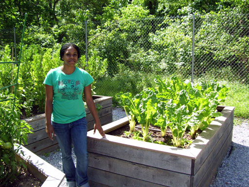 Community garden growing more than just vegetables