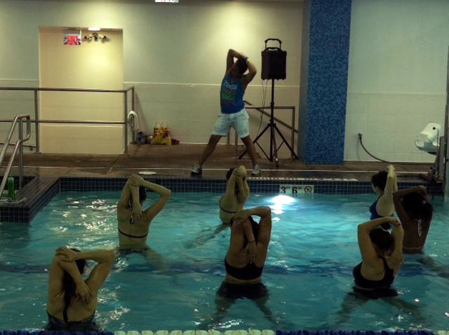Underwater Zumba offers cool alternative to summer workouts