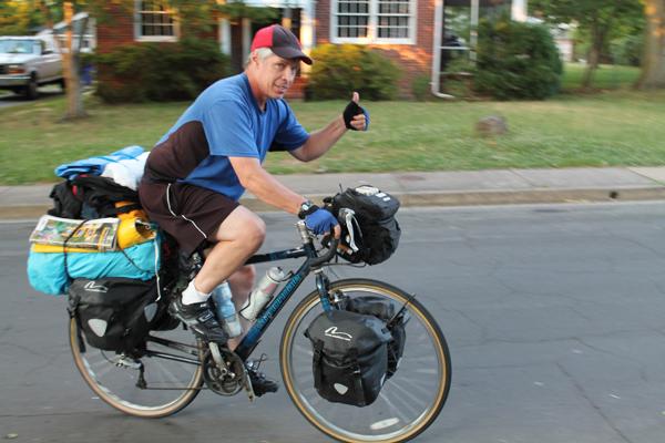 'The Biking Comedian' comes to Arlington