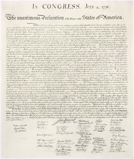 A look at the history of the Declaration of Independence
