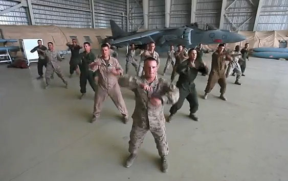 Marines cover summer hit 'Call Me Maybe' (Video)