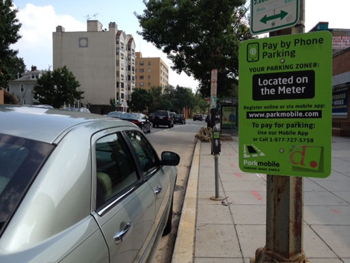 Meter prices in busy D.C. neighborhoods will rise